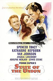 <i>State of the Union</i> (film) 1948 film by Frank Capra