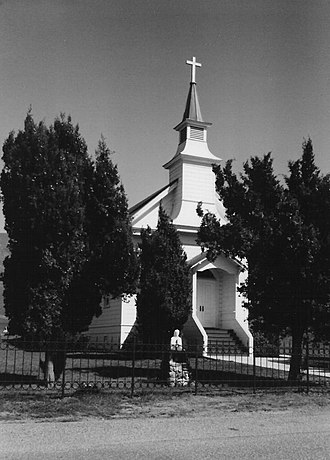 Nicasio, California - St. Mary's Church, Nicasio, California.