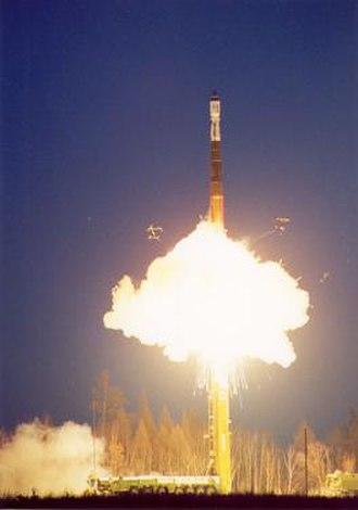 Svobodny Cosmodrome - Start-1 launch vehicle lifting off from the Svobodny Cosmodrome