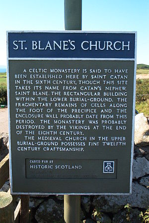 Saint Blane - Image: Stblanes 1