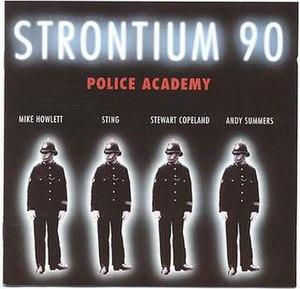 Strontium 90: Police Academy - Image: Strontium 90policeacademy