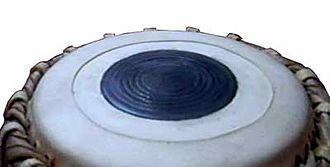 Syahi - A close-up of a syahi