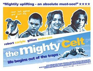 The Mighty Celt - Promotional theatre poster
