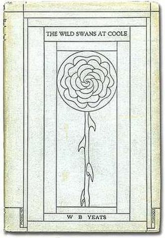 The Wild Swans at Coole - First US edition (1919 publ. Macmillan Publishers) Jacket design by Sturge Moore