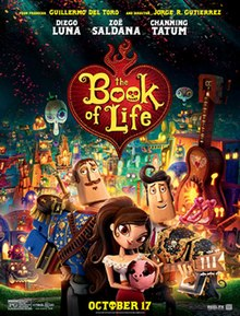 The Book of Life (2014) [English] SL DM - Diego Luna, Zoe Saldana and Channing Tatum with supporting roles by Christina Applegate, Ice Cube, Ron Perlman and Kate del Castillo