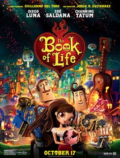 <i>The Book of Life</i> (2014 film) 2014 American 3D computer-animated adventure musical comedy film directed by Jorge Gutiérrez