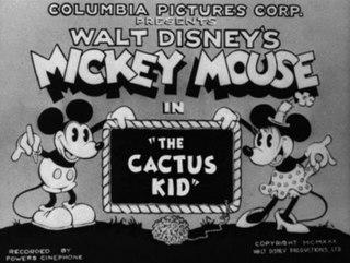 <i>The Cactus Kid</i> (1930 film) 1930 Mickey Mouse cartoon