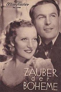 <i>The Charm of La Boheme</i> 1937 film