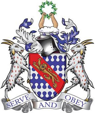 Haberdashers' Aske's Boys' School - Image: The Haberdashers' Aske's Boys' School coat of arms