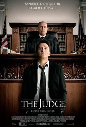 The Judge (2014 film) - Theatrical release poster