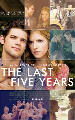The Last Five Years (film) - Theatrical release poster