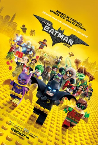 The Lego Batman Movie - Theatrical release poster