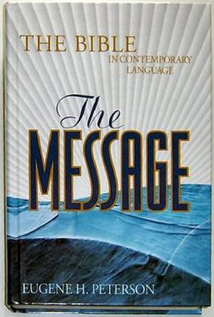 The Message (Bible) - Image: The Message cover