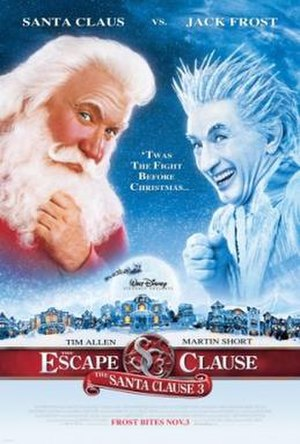 The Santa Clause 3: The Escape Clause - Theatrical release poster