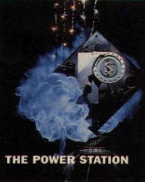 The Power Station (TV channel) - Image: The power station logo