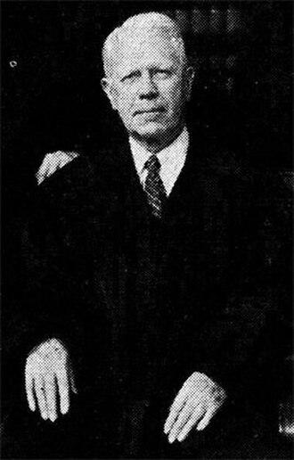 Thomas J. Baldrige - 1945, official photograph