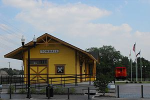 Tomball, Texas - Tomball Train Depot