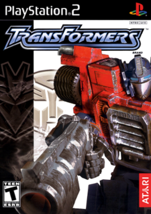 Transformers (2004 video game) - Image: Transformers (2004) Coverart