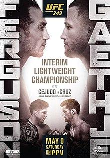 UFC 249: Ferguson vs. Gaethje Fight Poster