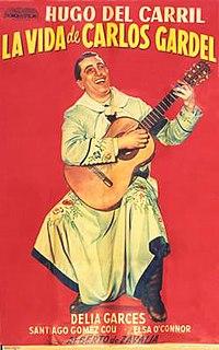 <i>The Life of Carlos Gardel</i> 1939 musical film by Alberto De Zavalia