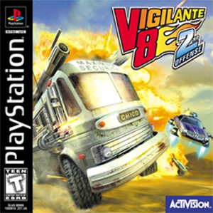 Vigilante 8: 2nd Offense - Image: Vigilante 8 Second Offense Coverart