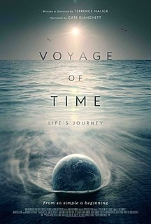<i>Voyage of Time</i> 2016 film by Terrence Malick