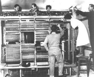 Weizmann Institute of Science - The WEIZAC (Weizmann Automatic Computer) construction in 1954