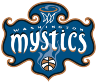 Washington Mystics - Logo from 1998-2010