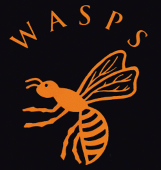 Wasps RFC - The original Wasps logo used until 1999.