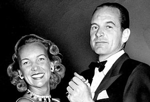 William Woodward Jr. - Billy Woodward with his wife Ann