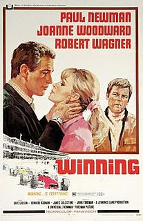 <i>Winning</i> 1969 American film directed by James Goldstone