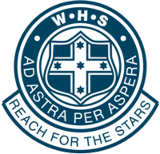 Woodville High School - Image: Woodville High School (Australia) logo