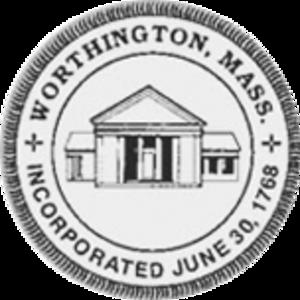Worthington, Massachusetts - Image: Worthington MA seal