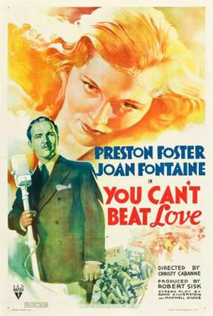 You Can't Beat Love - Theatrical release poster