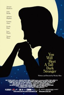 <i>You Will Meet a Tall Dark Stranger</i> 2010 film by Woody Allen