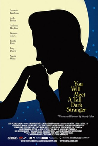 You Will Meet a Tall Dark Stranger - Theatrical release poster