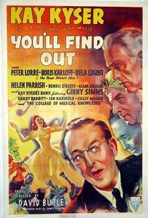 You'll Find Out - Film poster