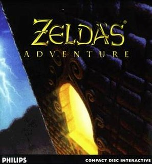 <i>Zeldas Adventure</i> 1994 Zelda video game