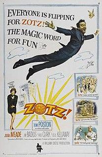 <i>Zotz!</i> 1962 film by William Castle