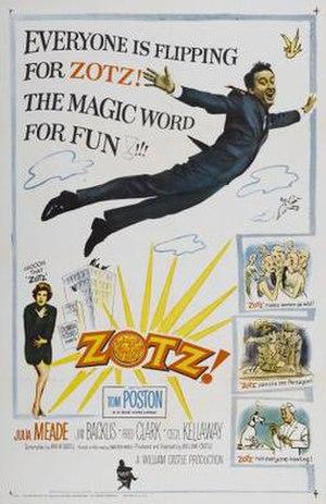 Zotz! - Image: Zotzposter