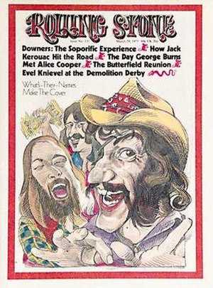 Dr. Hook & the Medicine Show - The band on the cover of Rolling Stone.