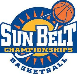 2012 Sun Belt Conference Men's Basketball Tournament - Image: 2010 Sun Belt men's basketball tournament logo