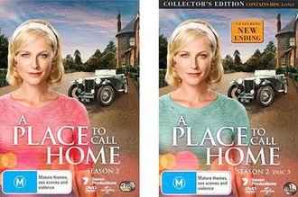 A Place to Call Home (season 2) - Season 2 DVD and Revised Ending DVD