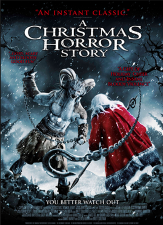 A Christmas Horror Story - Theatrical release poster