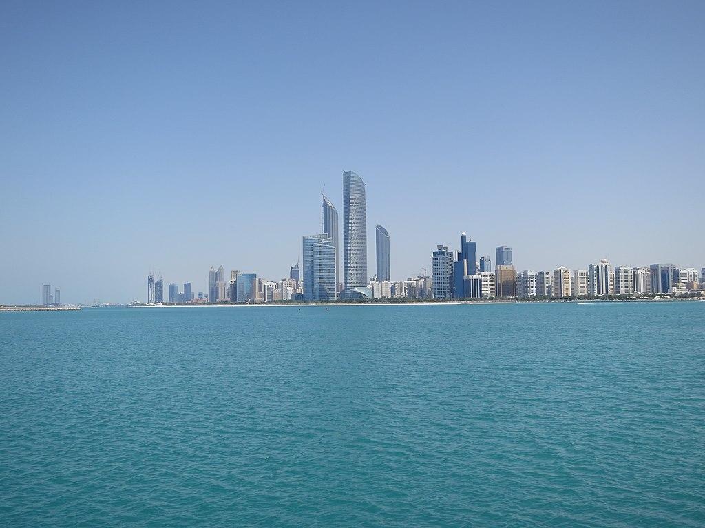 Abu Dhabi Skyline From Marina Jpg Wikipedia