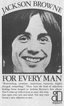 Advertisement 1973 Jackson Browne For Everyman Album.png