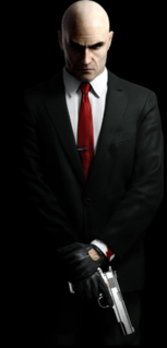 Agent 47 Fictional assassin from the Hitman game franchise