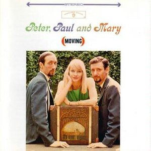Moving (Peter, Paul and Mary album) - Image: Album Moving Cover