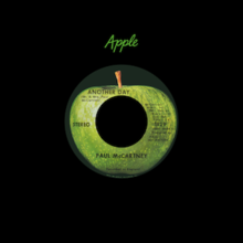 Another Day (Paul McCartney song) A-side label.png