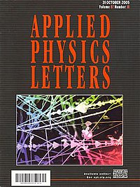 Applied Physics Letters   Wikipedia the free encyclopedia gv3qmQTU